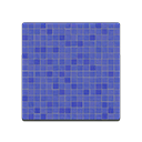 Animal Crossing New Horizons Blue Mosaic-tile Flooring Image