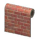 Animal Crossing New Horizons Red-brick Wall Image