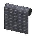 Animal Crossing New Horizons Black-brick Wall Image