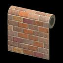 Animal Crossing New Horizons Brown-brick Wall Image
