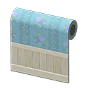 Animal Crossing New Horizons Blue Blossoming Wall Image