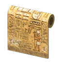Animal Crossing New Horizons Ankha's House Ancient Wall Wallpaper