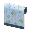 Animal Crossing New Horizons Blue Flower-print Wall Image