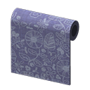 Animal Crossing New Horizons Blue Intricate Wall Image