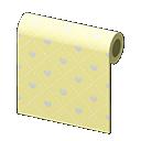 Animal Crossing New Horizons Yellow Heart-pattern Wall Image