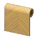 Animal Crossing New Horizons Brown Herringbone Wall Image