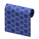 Animal Crossing New Horizons Blue Honeycomb-tile Wall Image