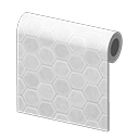 Animal Crossing New Horizons White Honeycomb-tile Wall Image