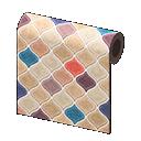 Image of Beige desert-tile wall
