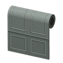 Animal Crossing New Horizons Agnes's House Gray Molded-panel Wall Wallpaper