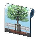 Main image of Tree-lined wall