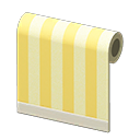 Animal Crossing New Horizons Yellow-striped Wall Image