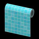 Image of Aqua tile wall