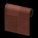 Animal Crossing New Horizons Brown Shanty Wall Image