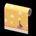 Animal Crossing New Horizons Yellow Playroom Wall Image