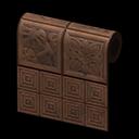 Animal Crossing New Horizons Brown Botanical-tile Wall Image