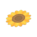 Animal Crossing New Horizons Sunflower Rug Image
