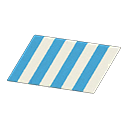 Animal Crossing New Horizons Blue Stripes Rug Image