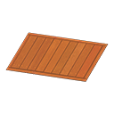 Animal Crossing New Horizons Brown Wooden-deck Rug