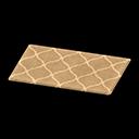 Animal Crossing New Horizons Brown Kitchen Mat Image