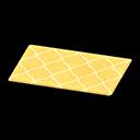 Animal Crossing New Horizons Yellow Kitchen Mat