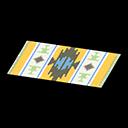 Animal Crossing New Horizons Yellow-design Kitchen Mat Image