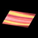 Animal Crossing New Horizons Red Wavy Rug Image