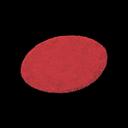 Animal Crossing New Horizons Red Medium Round Mat Image