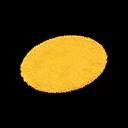 Animal Crossing New Horizons Yellow Small Round Mat Image
