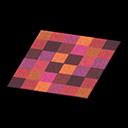 Animal Crossing New Horizons Red Blocks Rug Image