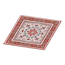 Animal Crossing New Horizons Red Persian Rug Image