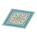 Animal Crossing New Horizons Blue Persian Rug Image