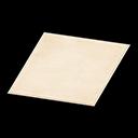Animal Crossing New Horizons White Simple Medium Mat