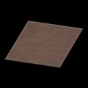Animal Crossing New Horizons Simple Medium Brown Mat Image