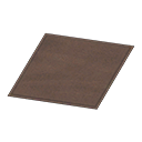 Animal Crossing New Horizons Simple Small Brown Mat Image