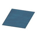 Animal Crossing New Horizons Simple Small Blue Mat Image
