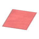 Animal Crossing New Horizons Simple Small Red Mat Image