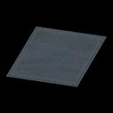 Animal Crossing New Horizons Simple Small Black Mat Image