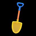 Animal Crossing New Horizons Colorful Shovel Image