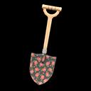 Animal Crossing New Horizons Printed-design Shovel (Black) Image