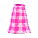 Secondary image of Simple checkered dress