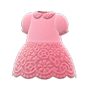 Secondary image of Floral lace dress