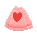 Secondary image of Heart sweater