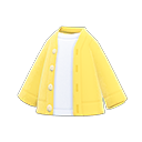 Secondary image of Cardigan-shirt combo