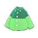Secondary image of Color-block dress shirt
