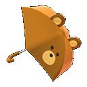 Animal Crossing New Horizons Bear Umbrella Image