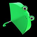 Animal Crossing New Horizons Frog Umbrella Image