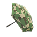 Animal Crossing New Horizons Camo Umbrella Image