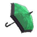 Animal Crossing New Horizons Green Chic Umbrella Image