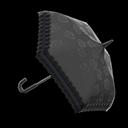 Animal Crossing New Horizons Black Chic Umbrella Image
